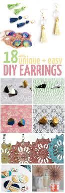 cool dangle earrings easy diy earrings 18 ideas for stud and dangle earrings
