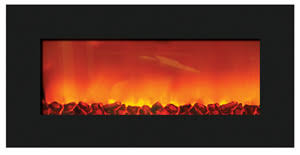 36 Electric Fireplace Insert by Electric Fireplaces Slim Line Series Sierra Flame