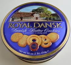 royal dansk butter cookies 16 oz tin 7 5