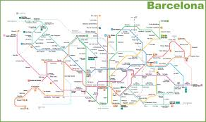 Dubai Metro Map by Barcelona Metro Map