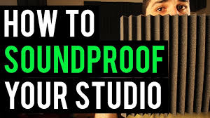Soundproofing Pictures by Soundproofing Home Recording Studio Setup For Beginners Pt 3