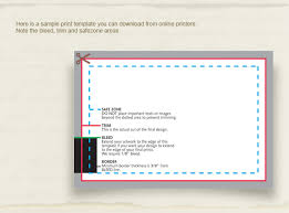 Bleed For Business Cards Ucreative Com Ultimate Guide To Business Cards Infographics And
