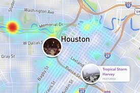 Dallas On Map by As Tropical Storm Harvey Hits Houston Locals Document The Worst