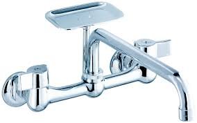 gerber kitchen faucets gerber classics two handle wall mount kitchen faucet gerber