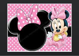 minnie mouse blank invitation template u2013 orderecigsjuice info