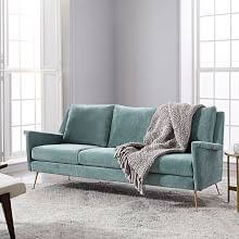 Sectional Sofa For Small Spaces by Small Sofas U0026 Sectionals West Elm