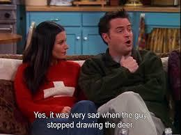 Chandler Meme - chandler bing on bambis mom meme guy