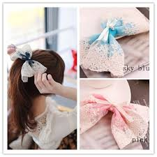 new korean style lace flower hair accessories hair clip boutique