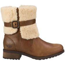 ugg australia womens emalie brown stout leather ankle boot 7 ebay ugg australia zip casual ankle boots for ebay