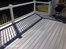 Decking Kits With Handrails Outdoor Cozy Fiberon Railing For Your Deck Design Ideas