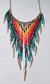 tribal necklace statement necklaces chunky necklaces bib