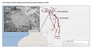 pentagon map pentagon evidence assad used chemical weapons business insider