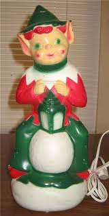 Vintage Plastic Christmas Lawn Ornaments by 84 Best Vintage Christmas Blow Molds Images On Pinterest
