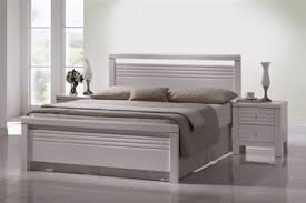 4ft Wooden Bed Frame Fion White Wooden Bed Frame 4ft 6 179 94