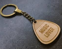 personalized wooden keychains gift for him mountain keychain christmas gift for him