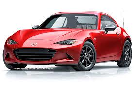 mazda 3 mx should a 2016 mazda mx 5 miata coupe look like this motor trend