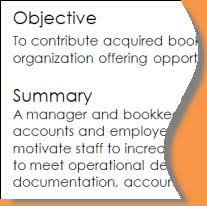 Sample Objectives In Resume by Resume Writing Objectives Summaries Or Professional Profiles
