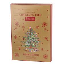 spode tree spruce pine advent calendar portmeirion usa