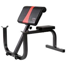 Bench For Working Out Pure Fitness Preacher Curl Bench 8525pc Fitness U0026 Sports