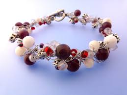 make bead bracelet wire images These wire crochet and bead bracelets are easy to make the JPG