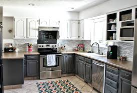 multi color kitchen cabinets two color kitchen cabinet ideas shanetracey