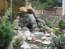 collection in patio water feature ideas house designing a small