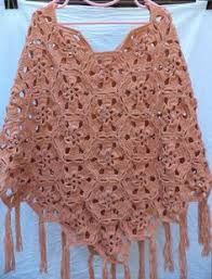 Handmade Poncho - hexagon poncho my crochet hexagons crochet and