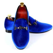 branded flat shoes rivets black men velvet loafers animal buckle