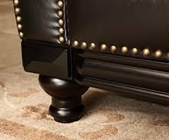 Abbyson Leather Sofa Reviews Abbyson Living Lexington Convertible Sofa Reviews Centerfieldbar Com