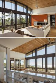 15 examples of homes where windows follow the roofline contemporist
