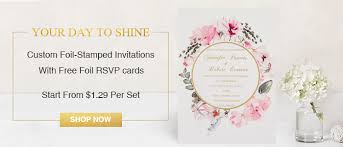 Wedding Cards Invitation Foil Wedding Invitations