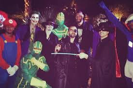 halloween party cincinnati stephen jackson as the joker and more from the spurs u0027 halloween