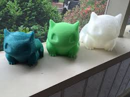 color options extra large bulbasaur planter realistic