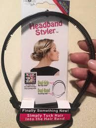 headband styler hair ties styling accs