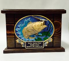 funeral urns for sale bass fish cremation urn