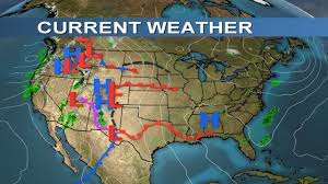 Current Weather Map Morning Weather Report February 19 2017 Youtube