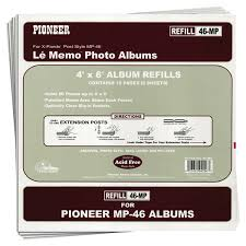 pioneer photo album refill pages pioneer photo albums refill pages for mp46 photo album meijer