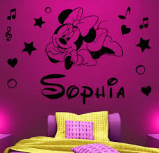 Minnie Mouse Bed Room by Minnie Mouse Wall Decor Plus Minnie Mouse Room Ideas Plus Minnie