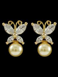 beautiful earrings beautiful american diamond earrings b31 ea17 cilory