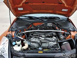 nissan 350z lower engine cover 2005 nissan 350z modified magazine