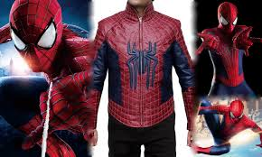 the amazing spiderman 2 costume jacket by fjackets on deviantart