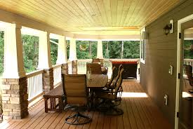Wrap Around Porch by Bludworth Homes Timber Frame Construction And Remodeling