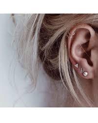 earrings for pierced ears kleinen ohrring set drei mix und match ohrring set falsch