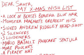 christmas wish list deadpool s christmas wish list is as as you d think