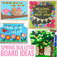 Spring Bulletin Board Ideas for Your Classroom Easy Peasy and Fun