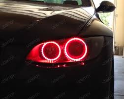halo rings red images Remote control 7 color led halo rings for headlight angel eyes jpg
