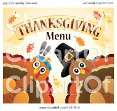 clipart of pilgrim and american turkeys with thanksgiving