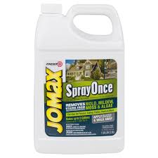 Moss Cleaner For Patios Zinsser 1 Gal Jomax Spray Once Case Of 2 314755 The Home Depot