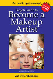 makeup artist book become a makeup artist print book