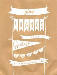 free give thanks print a owl